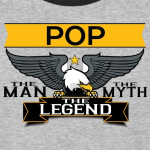 Pop The Man The Myth The Legend T-Shirts - Baseball T-Shirt