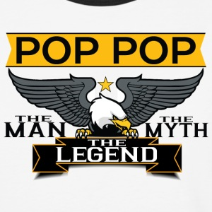 Pop Pop The Man The Myth The Legend T-Shirts - Baseball T-Shirt
