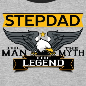 Stepdad The Man The Myth The Legend T-Shirts - Baseball T-Shirt