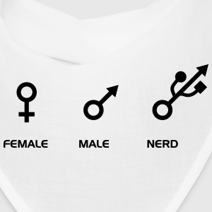FEMALE - MALE - NERD Caps - Bandana