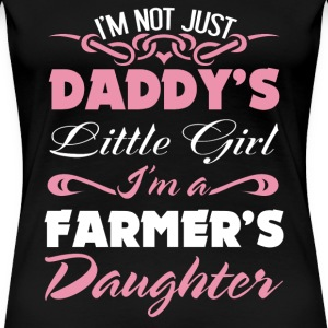 Farmer's Daughter farmer farmers wife - Women's Premium T-Shirt
