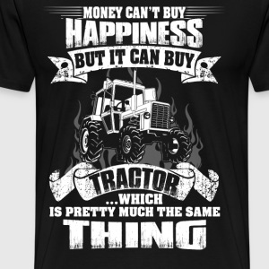 tractor make me happy, farmers wife,farmer funny - Men's Premium T-Shirt
