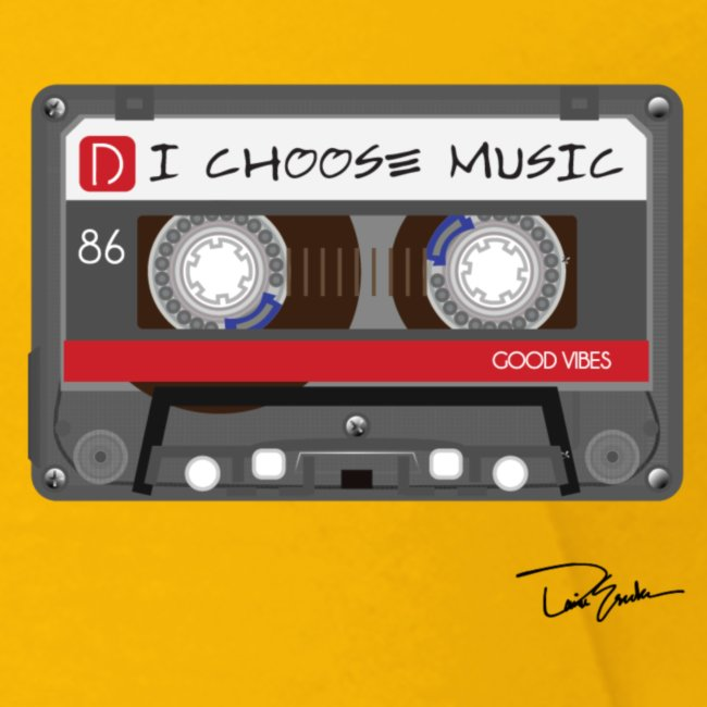 Toddler I Choose Music Tee