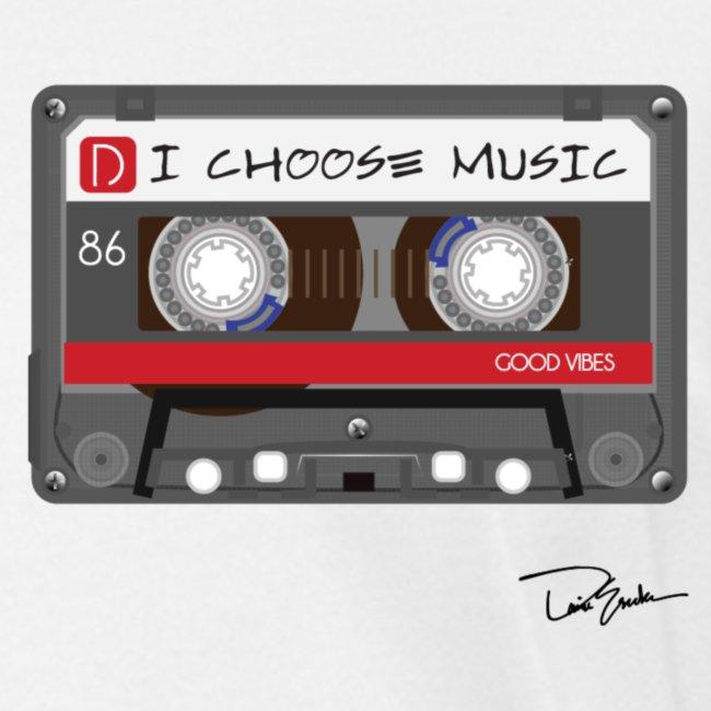 Womens I Choose Music Tee