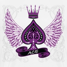 Ace Ornate LGBT Asexual Pride T-Shirts