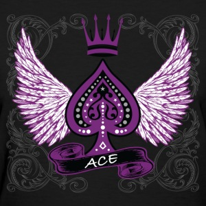 Ace Ornate LGBT Asexual Pride Women's T-Shirts - Women's T-Shirt