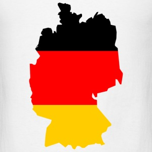 Germany-flag map T-Shirts - Men's T-Shirt