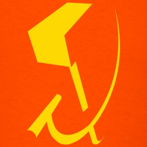T-shirt with the Hammer and Sickle. - Men's T-Shirt