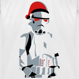 merry christmas trooper vector - Men's T-Shirt by American Apparel