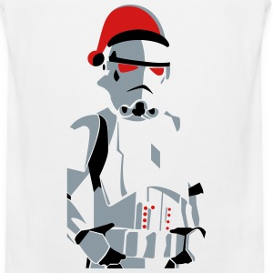 merry christmas trooper vector - Men's Premium Tank