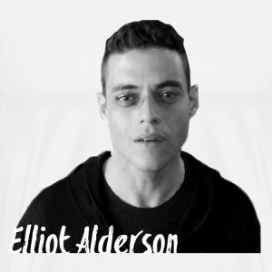 Mr. Robot – Elliot Alders T-Shirts - Men's Premium T-Shirt