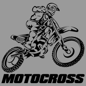 Motocross Logo Black