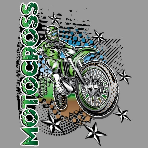 Kawasaki Dirt Bike Shirt