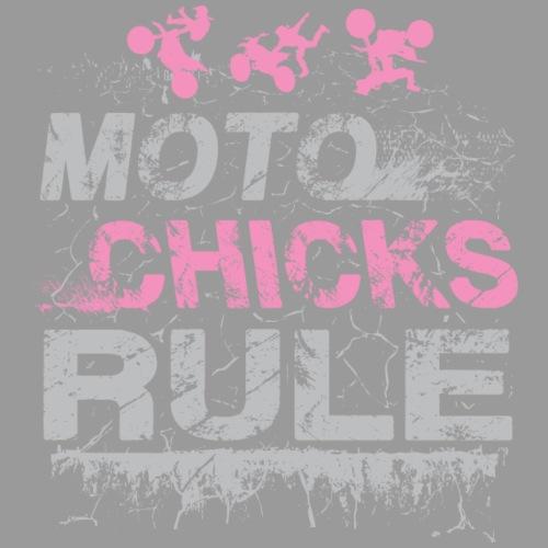 Moto Chicks Rule Pink