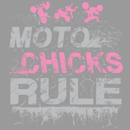 Moto Chicks Rule Pink