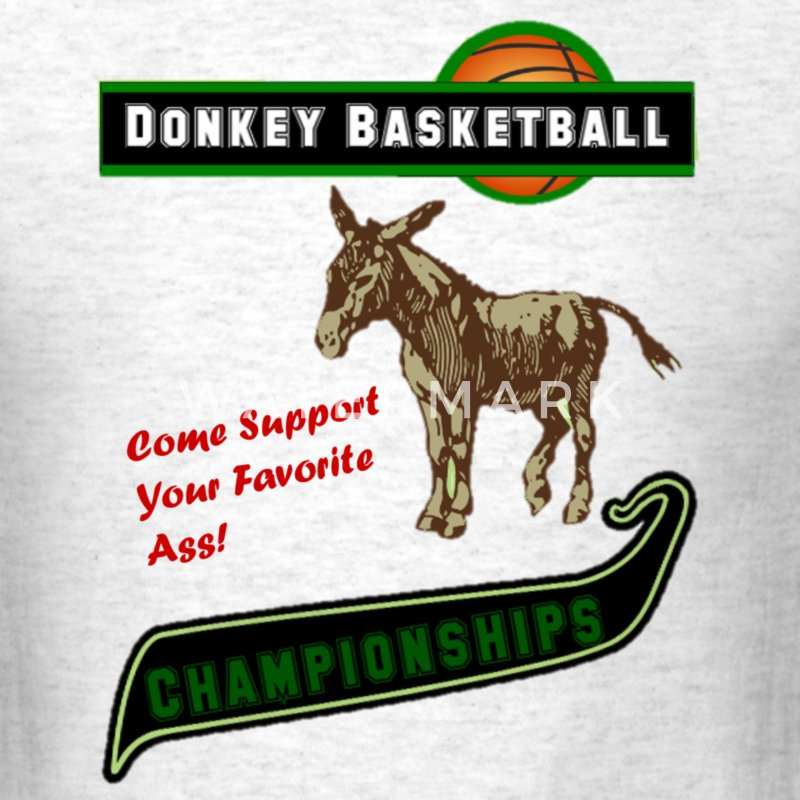 Donkey basketball T-Shirts - Men's T-Shirt