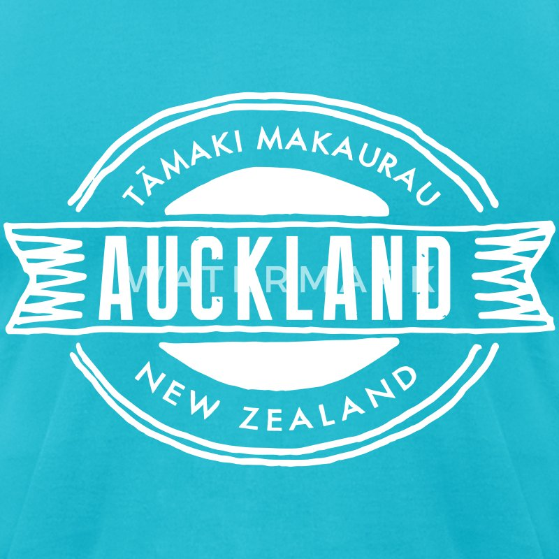 Auckland T-Shirts - Men's T-Shirt by American Apparel