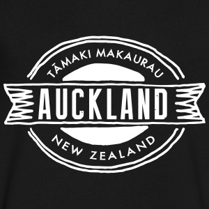 Auckland T-Shirts - Men's V-Neck T-Shirt by Canvas