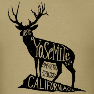 Yosemite Label - Men's T-Shirt