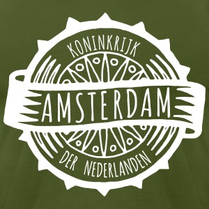 Amsternam T-Shirts - Men's T-Shirt by American Apparel