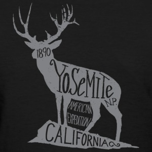 Yosemite Label - Women's T-Shirt