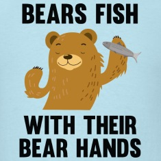 Bears Fish With Their Bear Hands
