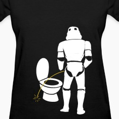 Stormtrooper bad aim female shirt