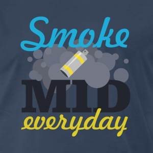 Smoke Mid Everyday T-Shirts - Men's Premium T-Shirt