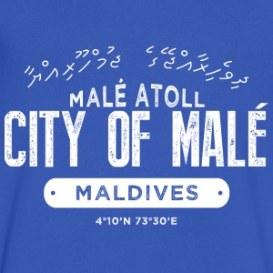 Malé T-Shirts - Men's V-Neck T-Shirt by Canvas