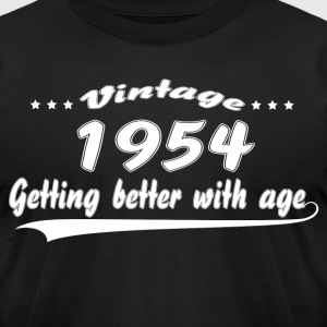 Vintage 1954 Getting Better With Age T-Shirts - Men's T-Shirt by American Apparel