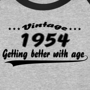 Vintage 1954 Getting Better With Age T-Shirts - Baseball T-Shirt