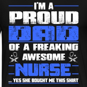 Nurse nursing dad nursery - Men's Premium T-Shirt