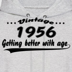 Vintage 1956 Getting Better With Age Hoodies - Men's Hoodie