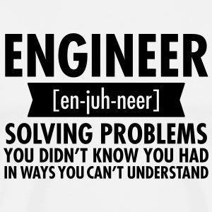 Engineer - Solving Problems T-Shirts - Men's Premium T-Shirt