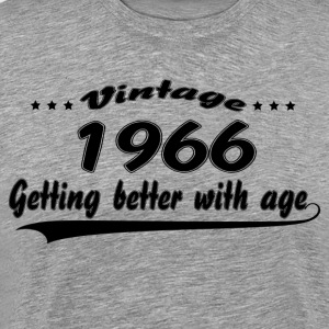 Vintage 1966 Getting Better With Age T-Shirts - Men's Premium T-Shirt