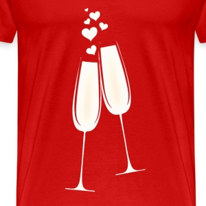 Drink of Love T-Shirts - Men's Premium T-Shirt