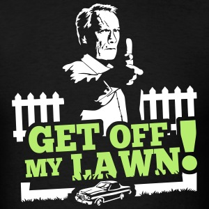 Get off my lawn - Men's T-Shirt