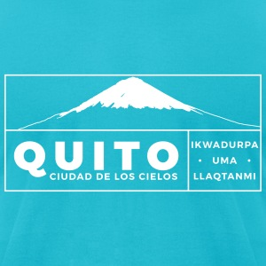 Quito T-Shirts - Men's T-Shirt by American Apparel