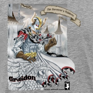 Graidon-dragon tshirt T-Shirts - Men's Premium T-Shirt