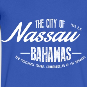 Nassau T-Shirts - Men's V-Neck T-Shirt by Canvas