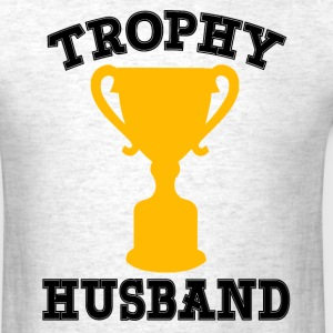 Trophy Husband funny - Men's T-Shirt