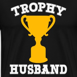 Trophy Husband funny - Men's Premium T-Shirt