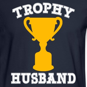 Trophy Husband funny - Men's Long Sleeve T-Shirt