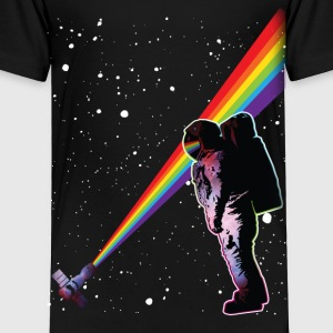 Astronaut Rainbow Space Baby & Toddler Shirts - Toddler Premium T-Shirt