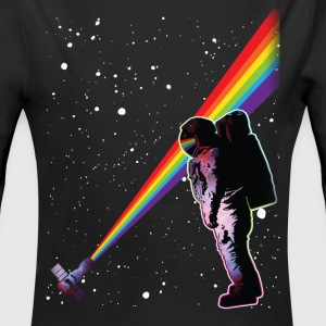 Astronaut Rainbow Space Baby Bodysuits - Long Sleeve Baby Bodysuit