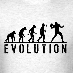 Funny American Football Evolution T Shirt - Men's T-Shirt