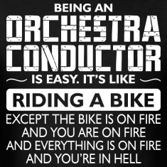 Being An Orchestra Conductor Like Bike Is On Fire