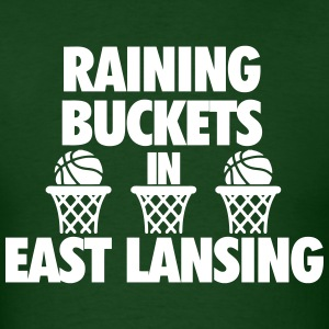 Raining Buckets In East Lansing T-Shirts - Men's T-Shirt