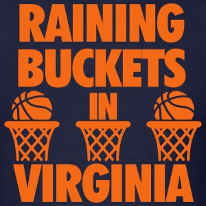 Raining Buckets In Virginia T-Shirts - Men's T-Shirt