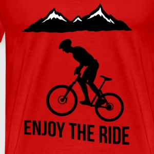 MTB - Enjoy the Ride - Men's Premium T-Shirt